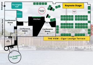 iGaming Forum 2020 Floorplan for event 25 - 27 may